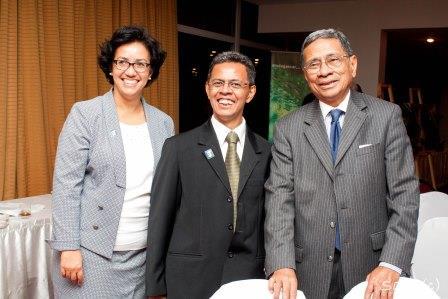 Trois présidents de la FAPBM