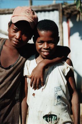 Enfants à Ambahikily...