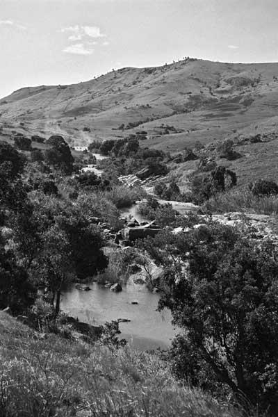 Bord de rivière, à proximité d'Ambalavao
